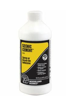 Woodland Scenics: SCENIC CEMENT (MATT) 16OZ