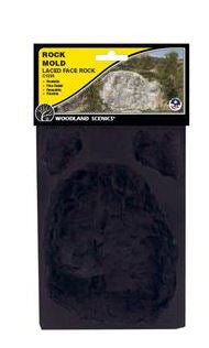 Woodland Scenics: C1235 ROCK MOLD LACED FACE