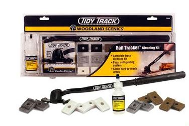 Woodland Scenics: TT4550 TIDY TRACK RAIL TRACKER CLEANING KIT