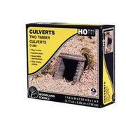 Woodland Scenics: CULVERT TIMBER - HO SCALE 2PC