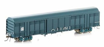 NLV-6 Auscision Models: NLKY LOUVERED VAN: STATE RAIL PTC BLUE 4 CAR PACK NLV-6-  AM10464