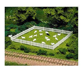 Atlas: HO-PICKET FENCE & GATE KIT: Item #776