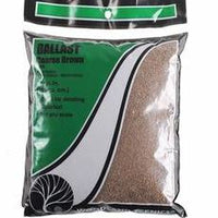 Woodland Scenics: B86 COARSE BALLAST - BROWN