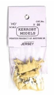 Kerroby Models: H56 JERSEY COWS (10)painted