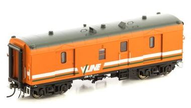 VGV-10 Auscision: twin pack CP291 -CP293 GUARDS VAN, V/LINE ORANGE & GREY, -AM11047