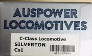 AUSPOWER C Class Locomotive Cs1 SILVERTON (cat No APLCAP009)