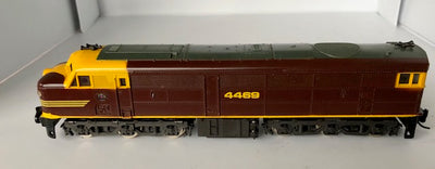 D306 - 2ND HAND - LIMA 44 CLASS 4469 INDIAN RED LOCOMOTIVE HO DC