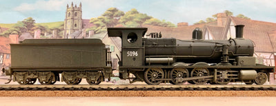5096 D5096, WITH DCC SOUND, Eureka Models SATURATED Steam Locomotive BLACK,