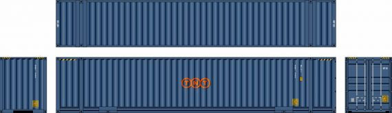 Southern Rail: AUSTRALIAN DOMESTIC CONTAINERS 48D09 2 CONTAINER SET