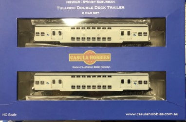 ELECTRIC SUBURBAN TRAILERS: Casula Hobbies: NEW RTR GREY 1970 ERA Sydney Electric Suburban Trailers LIMITED NUMBER AVAILABLE: