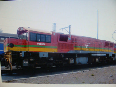 1. SA3 Loco: Southern Rail : EX-QLD  #SA3 2170 CLASS – TRANSNET – #D35804 – AS OPERATING IN SOUTH AFRICA CIRCA 2014 – 2018+ 16.5mm Gage HO With DCC SOUND