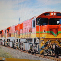 1. SA2 Loco: Southern Rail : SOUTH AFRICA LOCO, EX-QLD  #SA2 2170 CLASS–TRASNET– #D35810–AS OPERATING IN SOUTH AFRICA CIRCA 2014/18 / 16.5mm Gage HO DC NON SOUND.