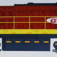 1. SA1 Loco: Southern Rail : SOUTH AFRICA ,EX-QLD #SA1 2400 CLASS–GRINDROD #BG15-03–AS OPERATING IN SOUTH AFRICA CIRCA 2014/18 / 16.5mm bogies HO With DCC SOUND