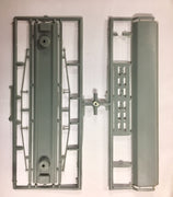 "ACCESSORIES ""MANSARD ROOF"" WITH CHASSIS & TRUSS ROD'S plastic injected for passenger cars NSWGR. Made in Australia,"