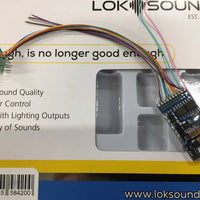 "ESU 58420 LokSound 5 DCC ""BLANK DECODER"" 8 PIN NEM652 Ready for Programming (ESU IS OUT OF STOCK) *"