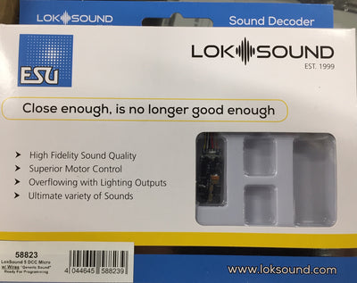 ESU 58823 LokSound 5 DCC MICRO with wires