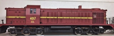 4017 Eureka Models 40 Class Locomotive 4017 Diesel INDIAN RED DC NON SOUND of the NSWGR,