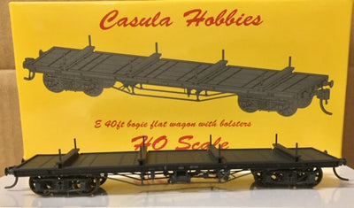 Casula Hobbies RTR: E2. E FLAT WAGON: E 21024 & E 21075 PHOTO OF THE PRODUCTION MODEL twin pack NOW AVAILABLE