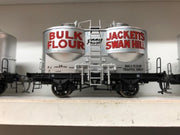 Austrains Victorian Railways : FJ Flour Hopper Single Hopper Wagon FJ 2 SILVER AT DISCOUNT PRICE