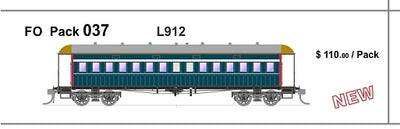 FO 037 AUSTRAINS NEO : End Platform Car - L912 - PTC Blue Single Cars (new Re-Run)