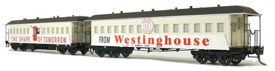 FO-028 Austrains Neo: FO End Platform Car with Westinghouse #FO-028 TWO CAR SET.