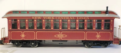 G Scale NEW YORK CENTRAL LINES PASSENGER CAR  BACHMANN, #G7.