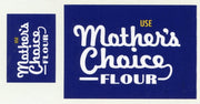 GVB 006 Mothers Choice Flour (Dark Mauve) Gwydir Ozzy Decals: -2 sizes to suit all scales.  Heritage Billboard Decals
