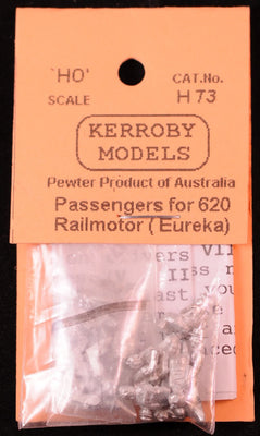 Kerroby Models: H73 Passengers for 720 Railmotors (EUREKA)