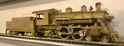 BRASS MODELS USA SL & SW ATLANTIC (COTTON BELT) 4-4-2  HALLMARK MODELS, INC. USA BRASS.
