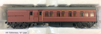 RRP $150 save $15: HR TERMINAL 2nd CLASS CAR INDIAN RED FROM THE R Type Sets Casula Hobbies: RTR**