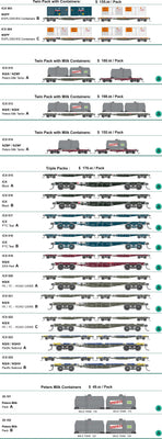 SDS Models: NSWGR: ICX 029 NQIX Pacific National Wagon pk D Triple Packs without containers
