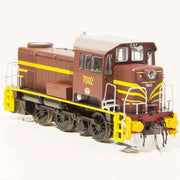 IDR Models: 70 CLASS NSWGR LOCOMOTIVE INDIAN RED YELLOW LINING 7002.