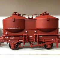 Austrains: V. R. J cement Hopper Single hopper Wagon J 43 Wagon Red $55.00 AT DISCOUNT PRICE $45.00