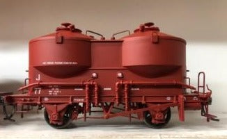 Austrains: V.R. J cement Hopper Single hopper Wagon J 77 Wagon Red $55.00 AT DISCOUNT PRICE $45.00