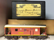 BRASS MODELS D107 :  JHG By CLASSIC BRASS MODELS By Samhongsa : NSWGR JHG BRAKE VAN PAINTED IN MINT CONDITION.