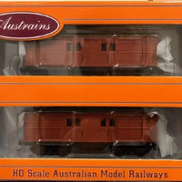 KKG001 RRP $165.00 Austrains Twin Pack NSWGR KKG HORSEBOX VANS new models SALE PRICE $99.00