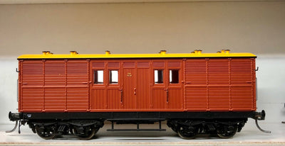 KKG Austrains NSWGR HORSEBOX KKG1524 INDIAN RED with BROWN ROOF new model SINGLE MODEL