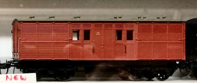 KKG Austrains NSWGR HORSEBOX KKG1537 INDIAN RED with GRAY ROOF new model SINGLE MODEL