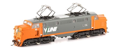 AUSCISION L CLASS  L-11 : L1156 ELECTRIC LOCOMOTIVE V/LINE Orange/Grey VICTORIAN RAILWAYS cat, No #L-11