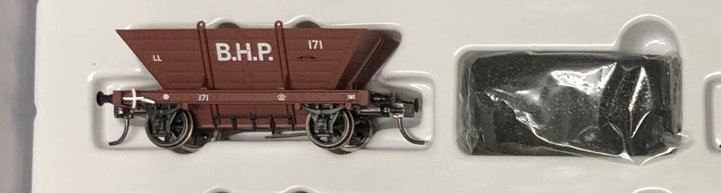 LL171 B.H.P. Private Owner COAL HOPPER 4 Wheel Single hopper, SOUTHERN RAIL MODELS HO.