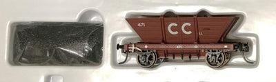 LL471 CC Private Owner COAL HOPPER 4 Wheel Single hopper, SOUTHERN RAIL MODELS HO.