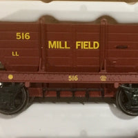 LL516 R.T.R. MILLFIELD LL516  PRIVATE OWNER COAL HOPPER Single hopper, SOUTHERN RAIL MODELS HO.