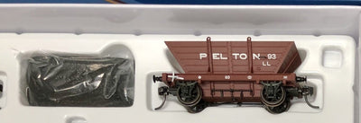 LL93 PELTON  Private Owner COAL HOPPER 4 Wheel Single hopper, SOUTHERN RAIL MODELS HO.