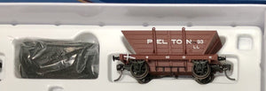 "LL93 ""PELTON""  Private Owner COAL HOPPER 4 Wheel Single hopper, SOUTHERN RAIL MODELS HO."