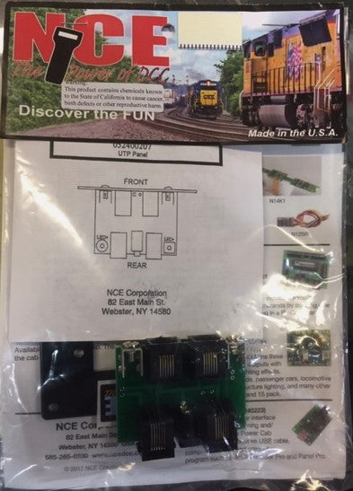 NCE; UTP Cab Bus Fascia Panel. 52400207 Nce Utp Panel Schematic Diagram on