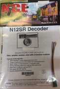 NCE; N12SR DECODERS 8.6 X 15 X 2.8 mm generic wire in, 4 function outputs. 5240119