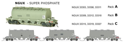 ARX SDS Models: NGUX: Super Phosphate PACK B.