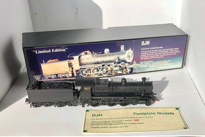 D110  DJH LLOYD MODEL RTR N.S.W.G.R. CLASS NN (1027) FULLY BUILT PAINTED BLACK LIMITED EDITION
