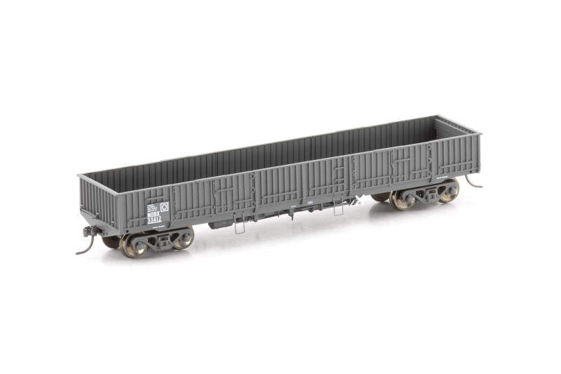 NOW-11 : NOBX OPEN WAGON NSWGR Gunmetal Early - 4 PACK AUSCISION