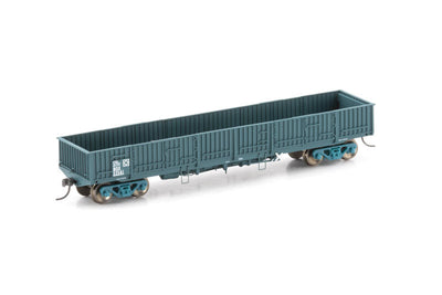 NOW-12 : BDX OPEN WAGON PTC BLUE NSWGR - 4 PACK AUSCISION